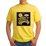 GPS in Space Yellow T-Shirt