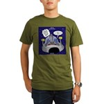 GPS in Space Organic Men's T-Shirt (dark)