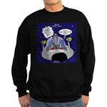 GPS in Space Sweatshirt (dark)