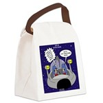GPS in Space Canvas Lunch Bag