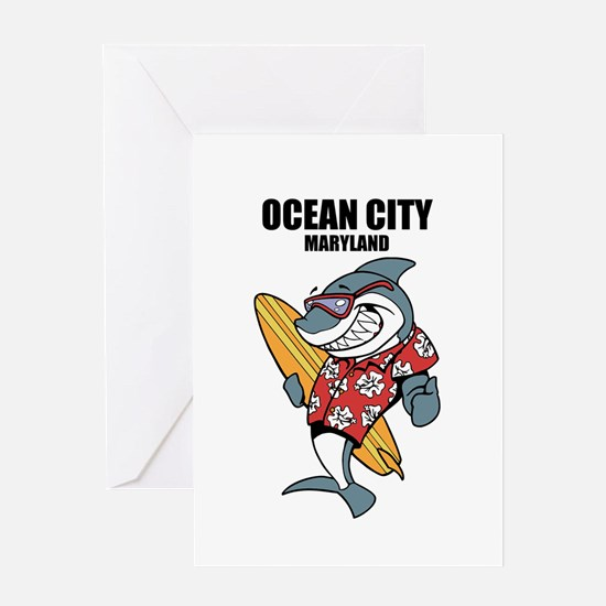 Ocean City, Maryland Greeting Cards