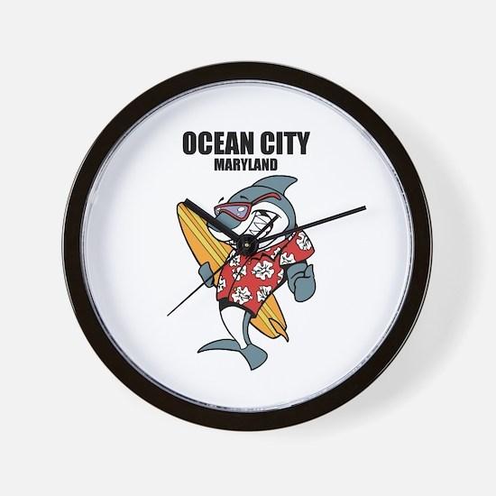 Ocean City, Maryland Wall Clock