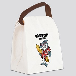 Ocean City, Maryland Canvas Lunch Bag