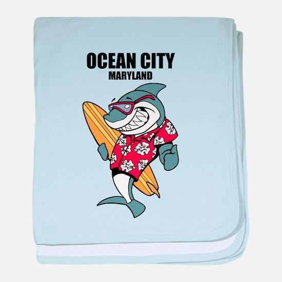 Ocean City, Maryland baby blanket