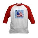 God Bless America 1 Kids Baseball Jersey