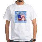 God Bless America 1 White T-Shirt