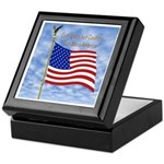 God Bless America 1 Keepsake Box