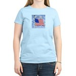 God Bless America 1 Women's Pink T-Shirt