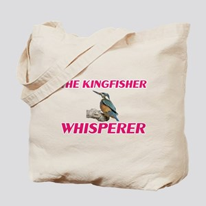 The Kingfisher Whisperer Tote Bag