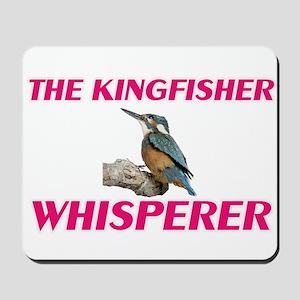The Kingfisher Whisperer Mousepad