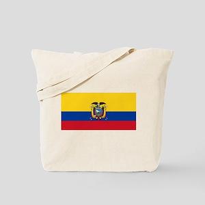 Ecuador National flag Tote Bag