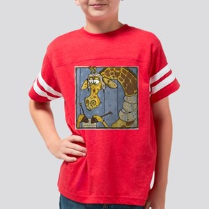 vertical januari Youth Football Shirt