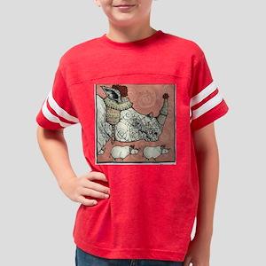 vertical februari Youth Football Shirt