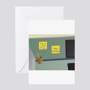 Office Birthday card from Group Greeting Cards