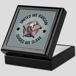 Divided We Slave Keepsake Box