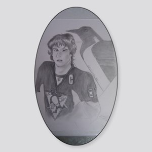 Sidney Crosby Pittsubrugh Penguins Sticker (Oval)
