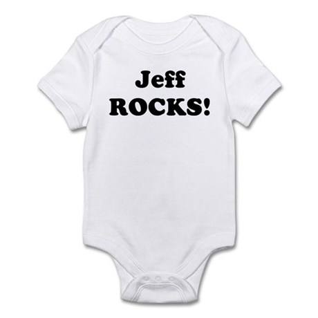 Jeff Rocks! Infant Bodysuit