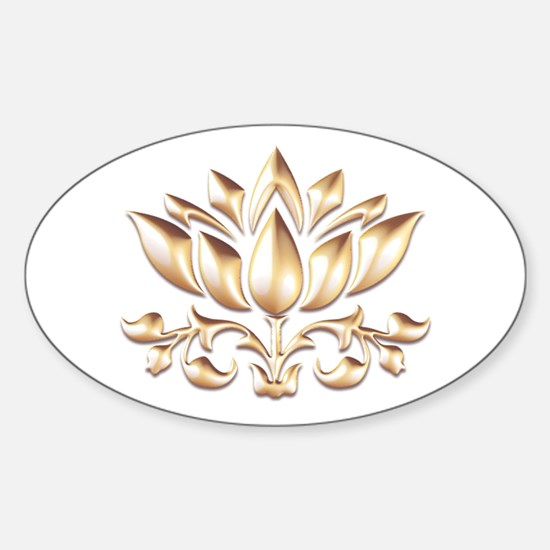 lotus gold Decal