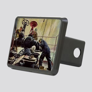 Vintage Maritime Rectangular Hitch Cover