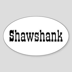 shawshank Sticker (Oval)