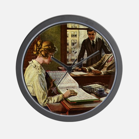 Vintage Business Office Wall Clock