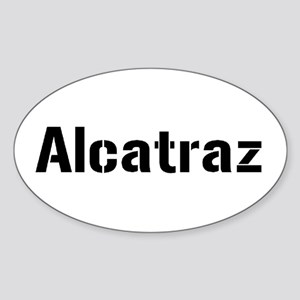alcatraz Sticker (Oval)