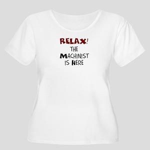 machinist her Women's Plus Size Scoop Neck T-Shirt