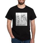Cow Cartoon 3348 Dark T-Shirt