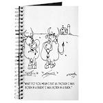 Cow Cartoon 3348 Journal