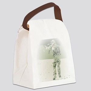 Shooting competition with Rangers Canvas Lunch Bag
