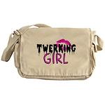 Twerking Girl Messenger Bag