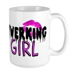 Twerking Girl Mugs