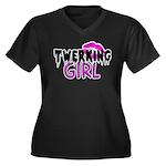Twerking Girl Plus Size T-Shirt