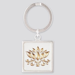 lotus gold Keychains