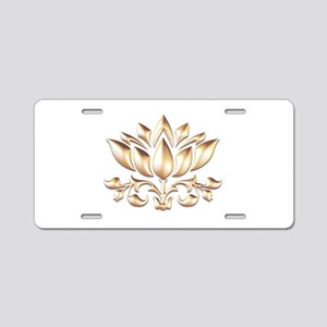 lotus gold Aluminum License Plate