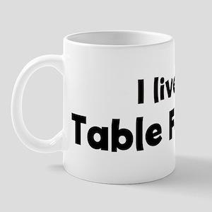 I Live for Table Football Mug