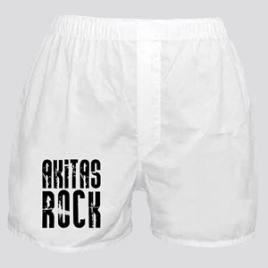 Akitas Rock Boxer Shorts