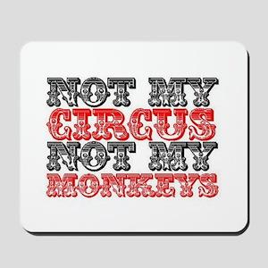 Circus Monkey Mousepad