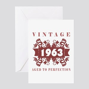 1963 Vintage (old-fashioned) Greeting Card