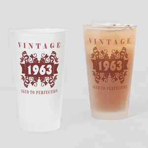 1963 Vintage (old-fashioned) Drinking Glass