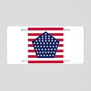 S-P Aluminum License Plate