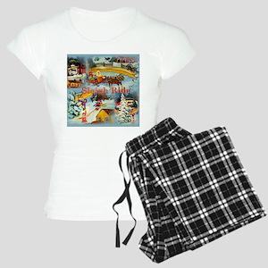 Winter Sleigh Ride Pajamas