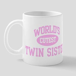 Cutest Twin Sister Mug