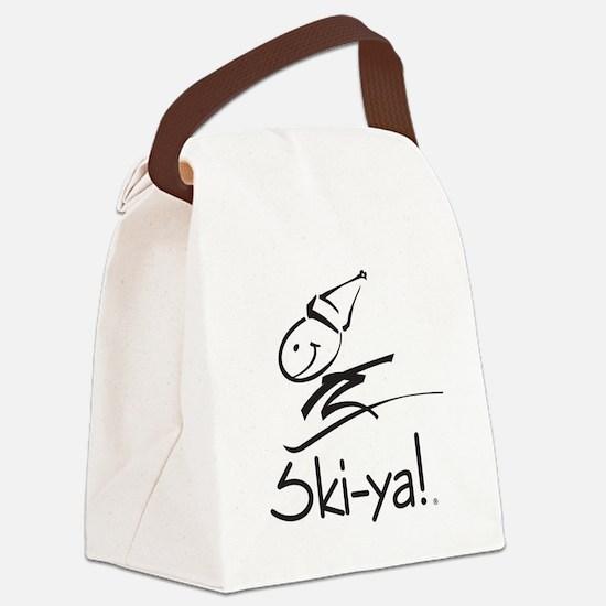 Ski-ya! Canvas Lunch Bag