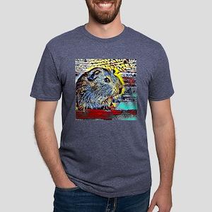 Color Kick -guinea pig Mens Tri-blend T-Shirt