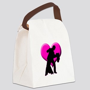 It Takes Two Canvas Lunch Bag