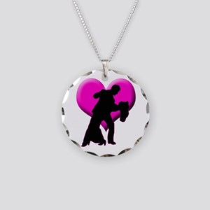 It Takes Two Necklace Circle Charm