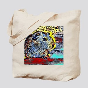 Color Kick -guinea pig Tote Bag