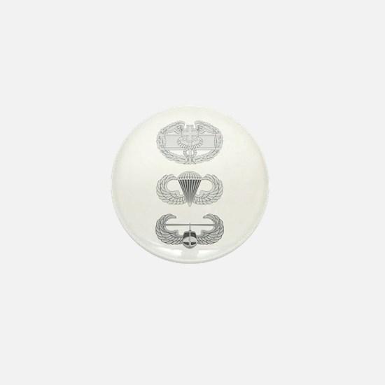 CFMB Airborne Air Assault Mini Button