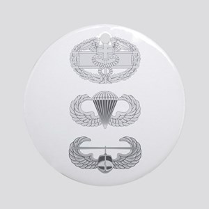 CFMB Airborne Air Assault Ornament (Round)